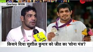 Exclusive interview of Commonwealth Games gold medalist wrestler Sushil Kumar - ZEENEWS