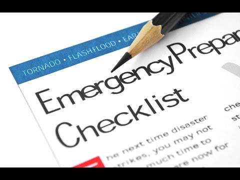 My Personal 2016 Emergency Preparedness List