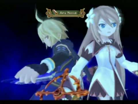 Tales of Symphonia 2 - Marta and Emil's Unison Attack: Ars Nova