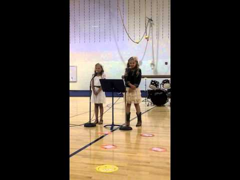 Josie & Kennedy's Talent Show- Singing