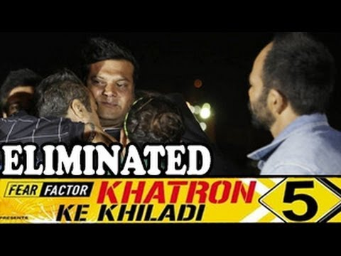 Dayanand Shetty aka Daya's EMOTIONAL EXIT Khatron ke Khiladi 5 20th April 2014 FULL EPISODE HD