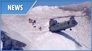 Heroic rescuers airlift man to safety from Oregon's Mount Hood - THESUNNEWSPAPER