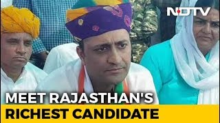 Rajasthan's Richest Candidate, Textile Magnate, Is Vying For Ajmer's Vote - NDTV