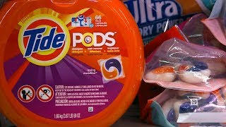 Procter & Gamble launches safety campaign to combat viral 'Tide pod challenge' - ABCNEWS