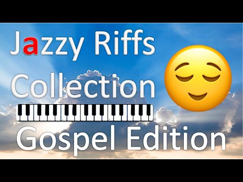 Piano Lesson - 10 Jazzy Riffs Collection Vol. 3 (on a Gospel Chord Progression)
