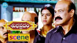Subhapradam Movie Scenes - Manjari Phadnis Becomes Pregnant || Allari Naresh - IDREAMMOVIES