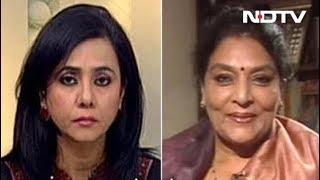 कांग्रेस के प्रदर्शन को लेकर रेणुका चौधरी से NDTV की खास बातचीत - NDTVINDIA