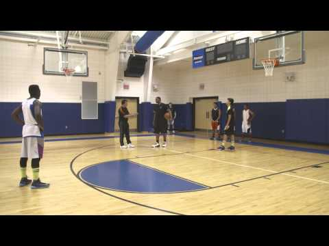 Basketball Drills: Attacking Off The Catch