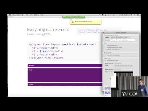 Polymer: Building Blocks for the Web with Rob Dodson and Alex Komoroske