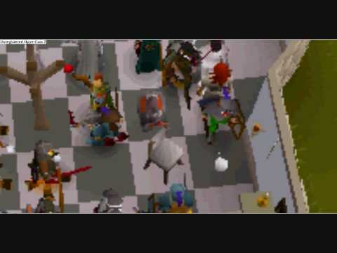Runescape -- Dragonfire shield drop from the party room -- Sxcy babez1's Story