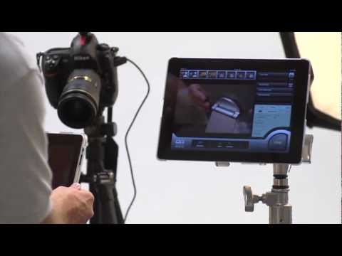 Mount iPad or Galaxy Tablet on Tripod, Studio Stand or Arm for Photogaphy or Film