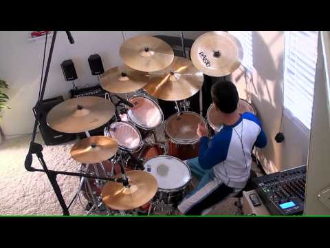 NEW DIVIDE - LINKIN PARK  / DRUM COVER -3qj-zRpZ6kY