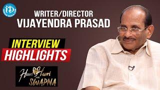Writer & Director K V Vijayendra Prasad Interview Highlights | Heart To Heart With Swapna - IDREAMMOVIES