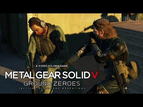 Metal Gear Solid 5: Ground Zeroes - ENGLISH PS4 Demo Walkthrough [1080p] TRUE-HD QUALITY