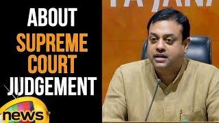 Sambit Patra on Supreme Court Judgement on Government formation in Karnataka | Mango News - MANGONEWS