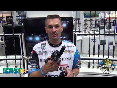 ICAST 2013 New Products - Randy Howell Talks About The New Daiwa Tatula Reels