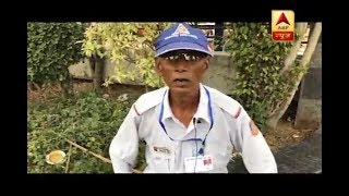 The Inspiring Story Of 72-Year-Old Ganga Ram Who's Been Managing Delhi's Traffic Without Any Salary - ABPNEWSTV