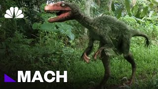 The Real-Life Dino Science Behind Jurassic World | Mach | NBC News - NBCNEWS
