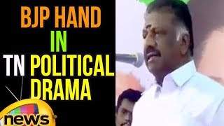 OPS Confirms BJP Hand In TN political Drama | Reveals He Became Deputy CM On PM Modi's Insistence - MANGONEWS
