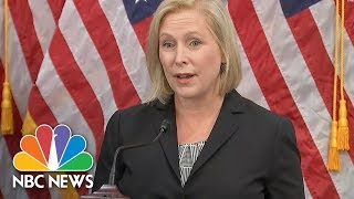 Senator Kirsten Gillibrand Slams President Donald Trump Tweet As A 'Sexist Smear' | NBC News - NBCNEWS