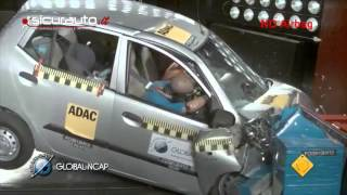 Crash test Global NCAP India - Hyundai i10