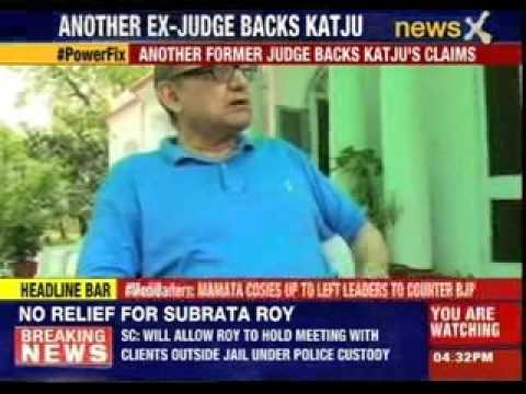 Justice Katju slams Lahoti's refusal to answer questions