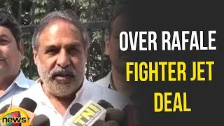 Anand Sharma Says Congress Delegation with CAG in less than a Month over Rafale fighter Jet Deal - MANGONEWS