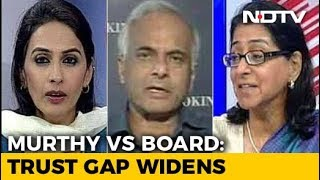 Narayana Murthy vs Vishal Sikka: Culture Clash At Infosys? - NDTV