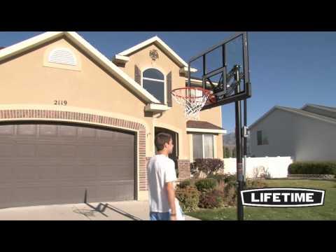 52 in. Portable Basketball Hoop