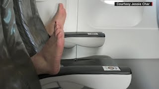 JetBlue passenger tweets in-flight feet surprise - CNN