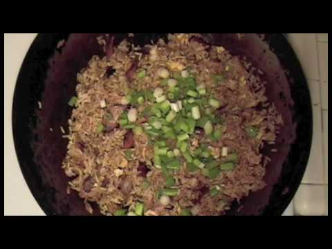 Pork Fried Rice Recipe Chinese Food - Absolute perfection using Char Siu Chinese BBQ Pork