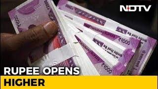 Rupee At 2-Week High - NDTV