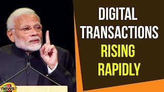 Modi Says Digital Transactions Rising Rapidly in India powered by Rupay & BHIM |Modi News|Mango News - MANGONEWS