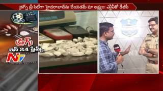 Telangana DGP Anurag Sharma Face to Face || Hyderabad Drugs Case || NTV - NTVTELUGUHD