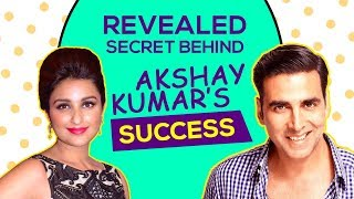 What's The SECRET of Akshay Kumar's Constant SUCCESS? Akshay Responds | Kesari | Parineeti Chopra - HUNGAMA