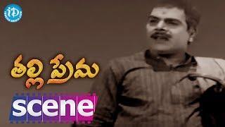 Thalli Prema Movie Scenes - NTR Falls Sick || NTR, Savitri - IDREAMMOVIES