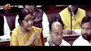 Kanimozhi Raises Question On Displaced Tamils Not Getting Houses | Rajya Sabha | Mango News - MANGONEWS