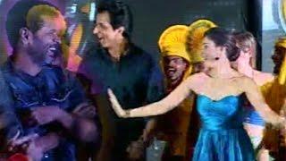 Prabhu Deva, Tamanna & Sonu Sood Superb LIVE Dance Performance @ Abhinetri Movie Audio Launch | TFPC - TFPC