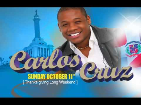 Carlos Cruz CONCERT !  Sunday Oct. 11th