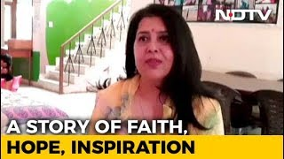 """Jaipur Woman Gives Hope To HIV-Positive Kids With NGO Named """"Faith"""" - NDTV"""