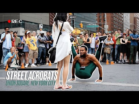 Street Acrobats - Union Square, NYC
