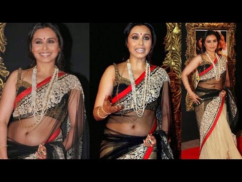 Rani Mukerjee in Transparent Saree at Jab Tak Hai Jaan