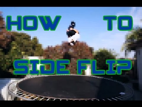 Trampoline Tutorials - How to Side Flip