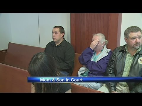 Mom, son see judge about bagged puppy