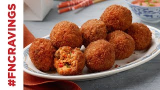How to Make Fried Rice Arancini | Food Network - FOODNETWORKTV