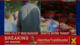 Amritsar train accident: Sukhbir Singh Badal blames the administration for the incident - NEWSXLIVE