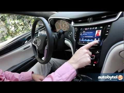 Cadillac CUE Infotainment System -- Car Video Review of the Cadillac User Experience