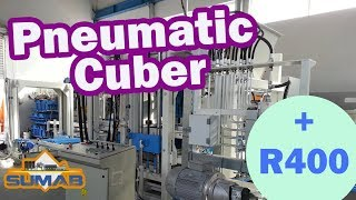 Cтационарный вибропресс блок-машина sumab r-400
