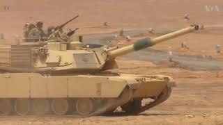 Jordan, U.S. Military Take Part in Joint Training Exercise - VOAVIDEO