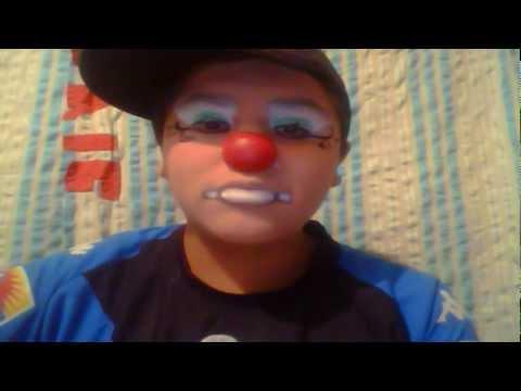 maquillaje de payaso de circo